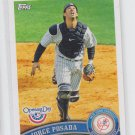 Jorge Posada 2011 Topps Opening Day #172 Yankees