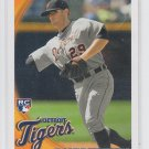 Danny Worth RC 2010 Topps Update Series #US-9 Tigers