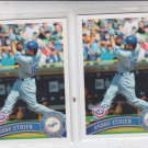 Andre Ethier Lot of (2) 2011 Topps Opening Day #112 Dodgers
