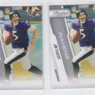 Joe Flacco Lot of (2) 2010 Panini Prestige #15 Ravens