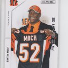 Dontay Moch Rookie Card 2011 Panini Rookies & Stars #186 Bengals