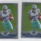 Terrance Williams Rookie Card Lot of (2) 2013 Topps Chrome #101 Cowboys
