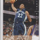 Rudy Gay Gold Parallel SP 2008-09 Upper Deck FIrst Edition #92 Grizzlies