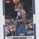Ronnie Brewer Basketball Trading Card 2007-08 Fleer #174 Jazz