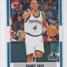 Randy Foye Basketball Trading Card 2007-08 Fleer #127 Grizzlies