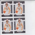 Pau Gasol Basketball Trading Card Lot of (4) 2008-09 Donruss Elite Retail #50