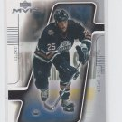 Mike Grier Hockey Trading Card 2001-02 UD MVP #71 Oilers