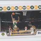 Kevin Durant Basketball Trading Card 2008-09 Topps #156 Supersonics