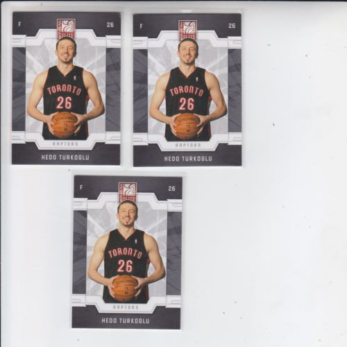 Hedo Turkoglu Trading Card Lot of (3) 2008-09 Donruss Elite Retail #112 Raptors