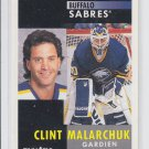 Clint Malarchuk French Hockey Card 1991-92 Pinnacle #103 Sabres