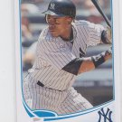 Curtis Granderson Baseball Trading Card 2013 Topps Series 1 #214 Yankees