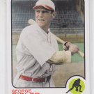 George Sisler Vintage Legends Collection 2010 Topps VLC30 STL Browns