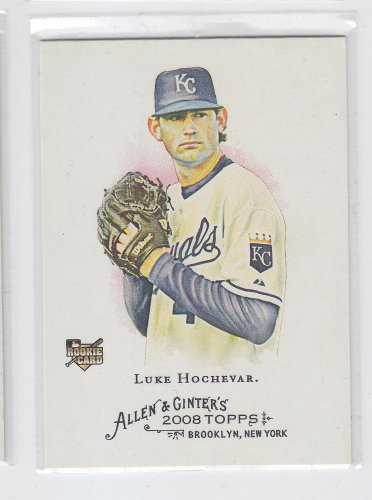 Luke Hochevar Rookie Card 2008 Topps Allen & Ginter SP #330 Royals