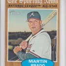 Martin Prado All Star 2011 Topps Heritage #391 Braves