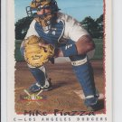 Mike Piazza National Pack Time Insert 1995 Topps #5 Dodgers