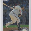 Pablo Sandoval Baseball Trading Card 2011 Topps Chrome #93 Giants Red Sox