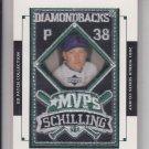 Curt Schilling Manufactured World Series Patch 2003 Upper Deck #MVP-3