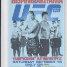 Michael Bisping Yoshihiro Akiyama Poster Trading Card 2011 UFC Moment of Truth