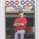 Terry Fancona Baseball Trading Card 2008 Topps #123 Red Sox MGR QTY