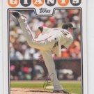 Tim Lincecum Baseball Trading Cad 2008 Topps #165 Giants QTY