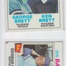 George Brett League Leaders & Big League Brothers Lot 1983 Topps #1 #631 VG