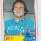 George Brett All Star 1983 Topps #388 Royals NM