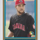 Russell Martin Gold WBC Parallel 2009 Bowman Draft #BDPW8 Dodgers Canada