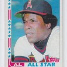 Rod Carew All Stars 1982 Topps #547 Angels NM