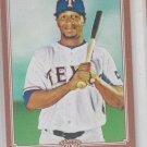 Julio Borbon  Bronze Thick Parallel 2010 Topps 206 #242 Rangers