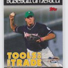 Michael Moustakas Tools of the Trade Insert 2010 Topps Pro Debut #TT25 Royals