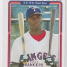 John Mayberry Rookie Card 2005 Topps Updates & Highlights #UH314 Rangers