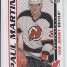 Paul Martin Rookie Card SP 2004-05 Pacific Heads Up 125 Devils 294/899
