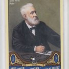 Jules Verne Baseball Trading Card SP 2011 UD Goodwin Champions #161