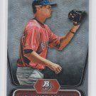 Will Middlebrooks Baseball Trading Card 2012 Bowman Platinum #BPP26 Red Sox