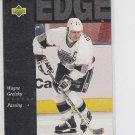 Wayne Gretzky Shooters Edge Hockey Trading Card 1994-95 Upper Deck #228 Kings