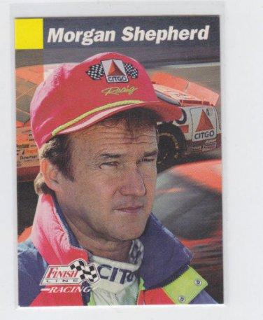 Morgan Shepherd Racing Trading Card 1993 Pro Set Finish Line #91 *BOB