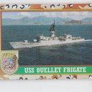 USS Ouellet Trading Card 1991 Topps Desert Storm #61 *BOB