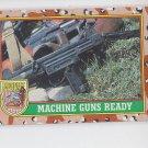 Wearing the Gas Mask Trading Card Single 1991 Topps Desert Storm #76  *BOB