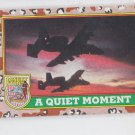 A Quiet Moment Trading Card Single 1991 Topps Desert Storm #85 *BOB