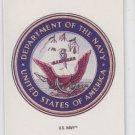 US Navy Sticker Trading Card Single 1991 Topps Desert Storm #20 *BOB