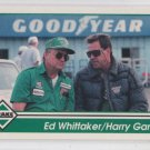 Ed Whitaker & Harry Grant Racing Trading Card 1992 Traks #146 *BOB Chipping