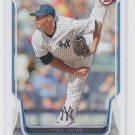 Ivan Nova Baseball Trading Card 2014 Bowman #35 Yankees