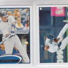 Andruw Jones Trading Card Lot (2) 2011 Topps Update Series 2012 Series 2 Yankees