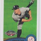 David Robertson Baseball Card 2011 Topps Update Series #US130 Yankees