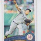 Bartolo Colon Baseball Trading Card 2011 Topps Update Series #US149 Yankees
