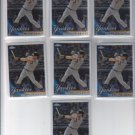 Mark Teixeira Baseball Trading Card Lot of (7) 2010 Topps Chrome #75 Yankees