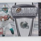 Ted Ginn Jr Zoning Commission Black SP 2008 Donruss Elite #ZC5 249/400