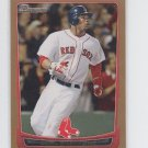 Carl Crawford Gold Parallel 2012 Bowman #39 Red Sox