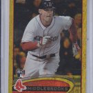 Will Middlebrooks Rookie Gold Sparkle 2012 Topps Update #US265 Red Sox