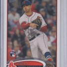 Will Middlebrooks Rookie Baseball Trading Card  2012 Topps Update #US70 Red Sox